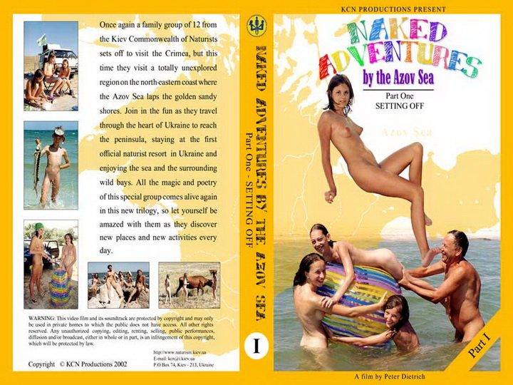 Russianbare Naked Adventures By The Azov Sea 1 - video nudist