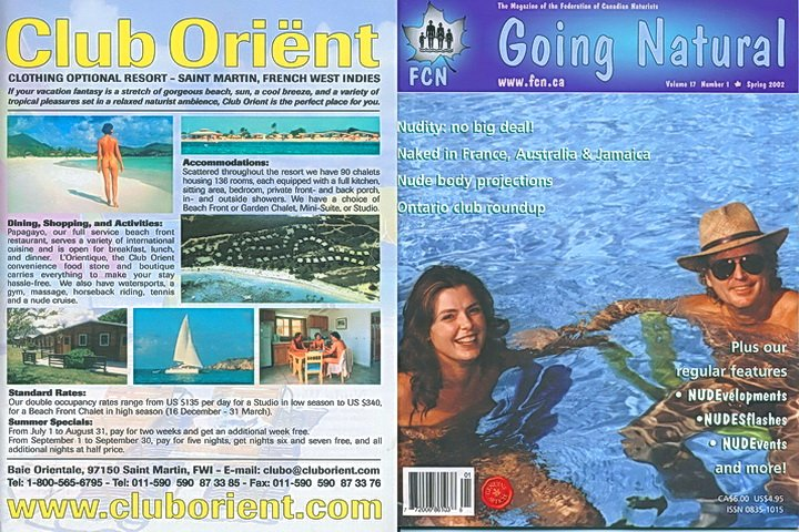 Going Natural No 17 (01-2002) - nudist magazin pdf